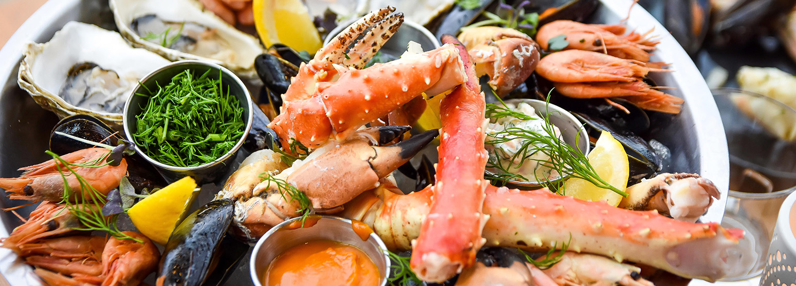 Mussel and shellfish weeks 24.2.-9.4.